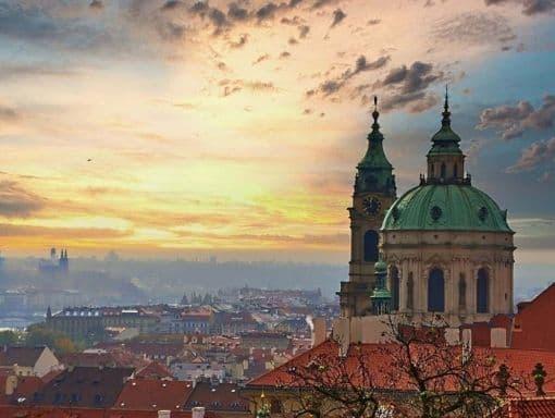 Praga Cielo Republica Checa Nubes 510