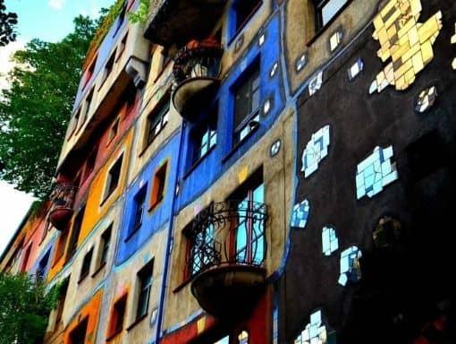 austria viena colorful edificio 510