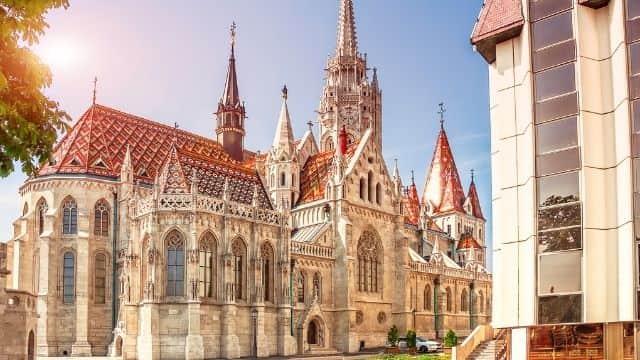 Iglesia de San Matías en Budapest.