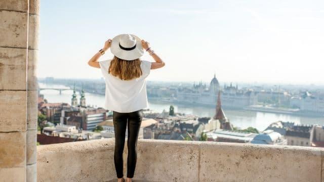 Turista en Budapest