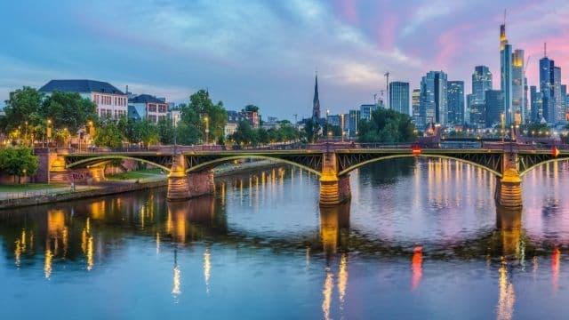 Pamorámica de Frankfurt