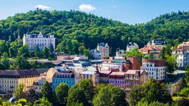 Ciudad balneario de Karlovy Vary